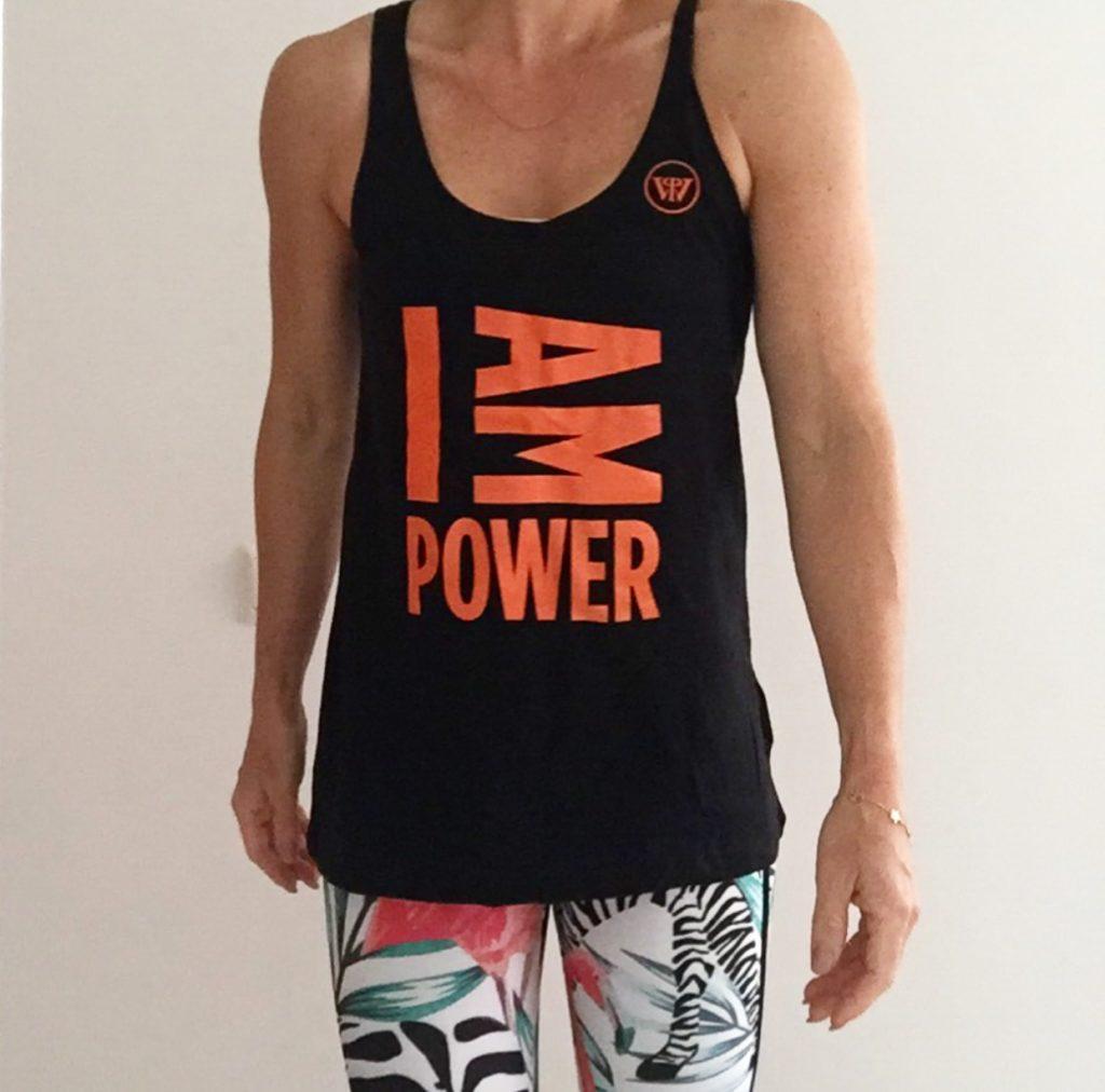I Am Power - Power Woman Top