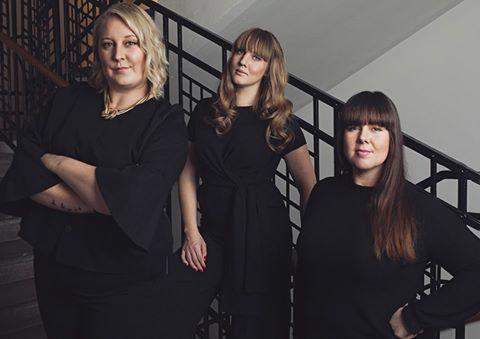 Linda Hörnfeldt, Clara Lidström, Sara Rönne Influencers of Swedens styrelse - Bild av Emily Dahl