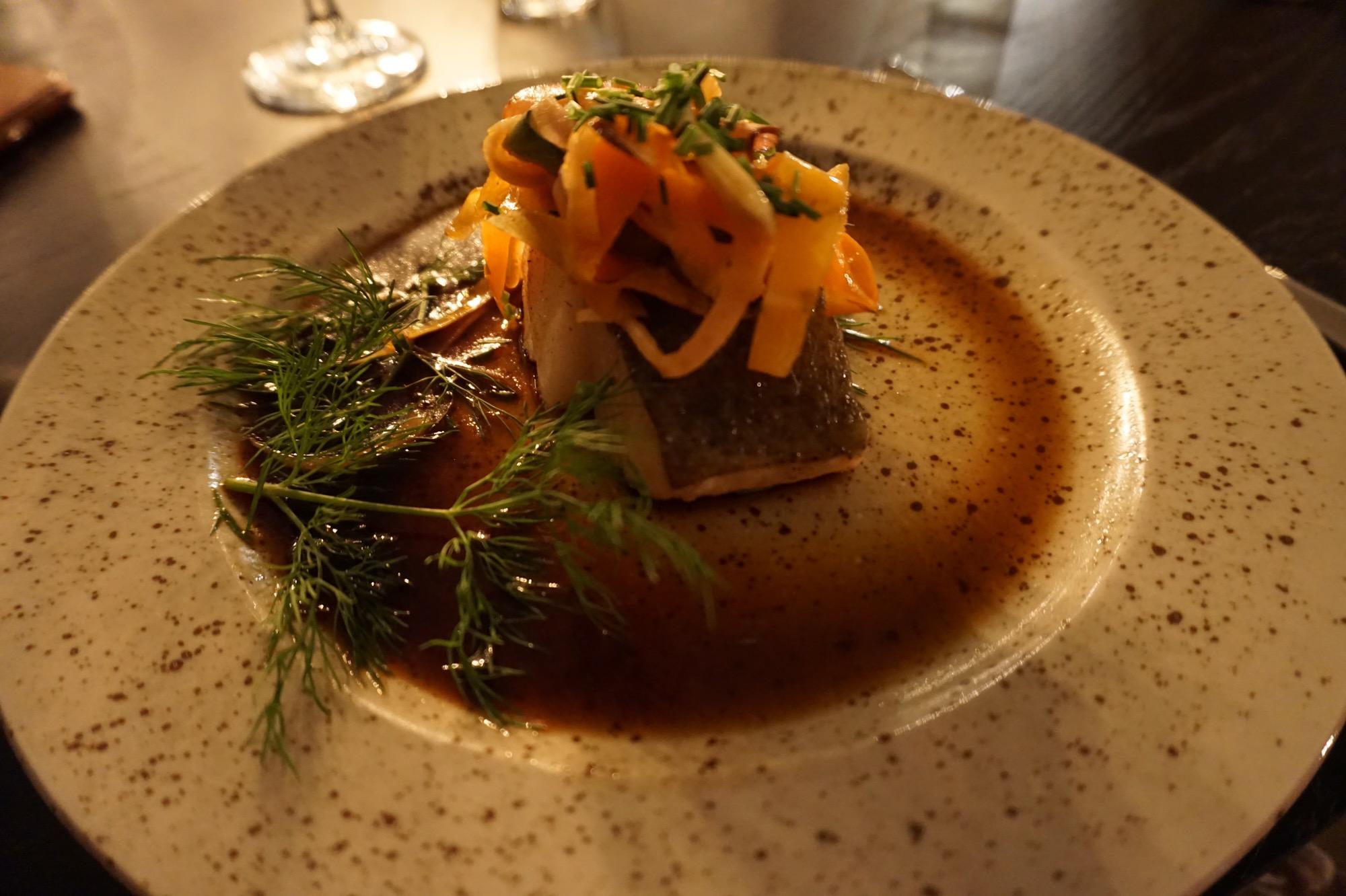 Grön mat i Åre - med lite fisk