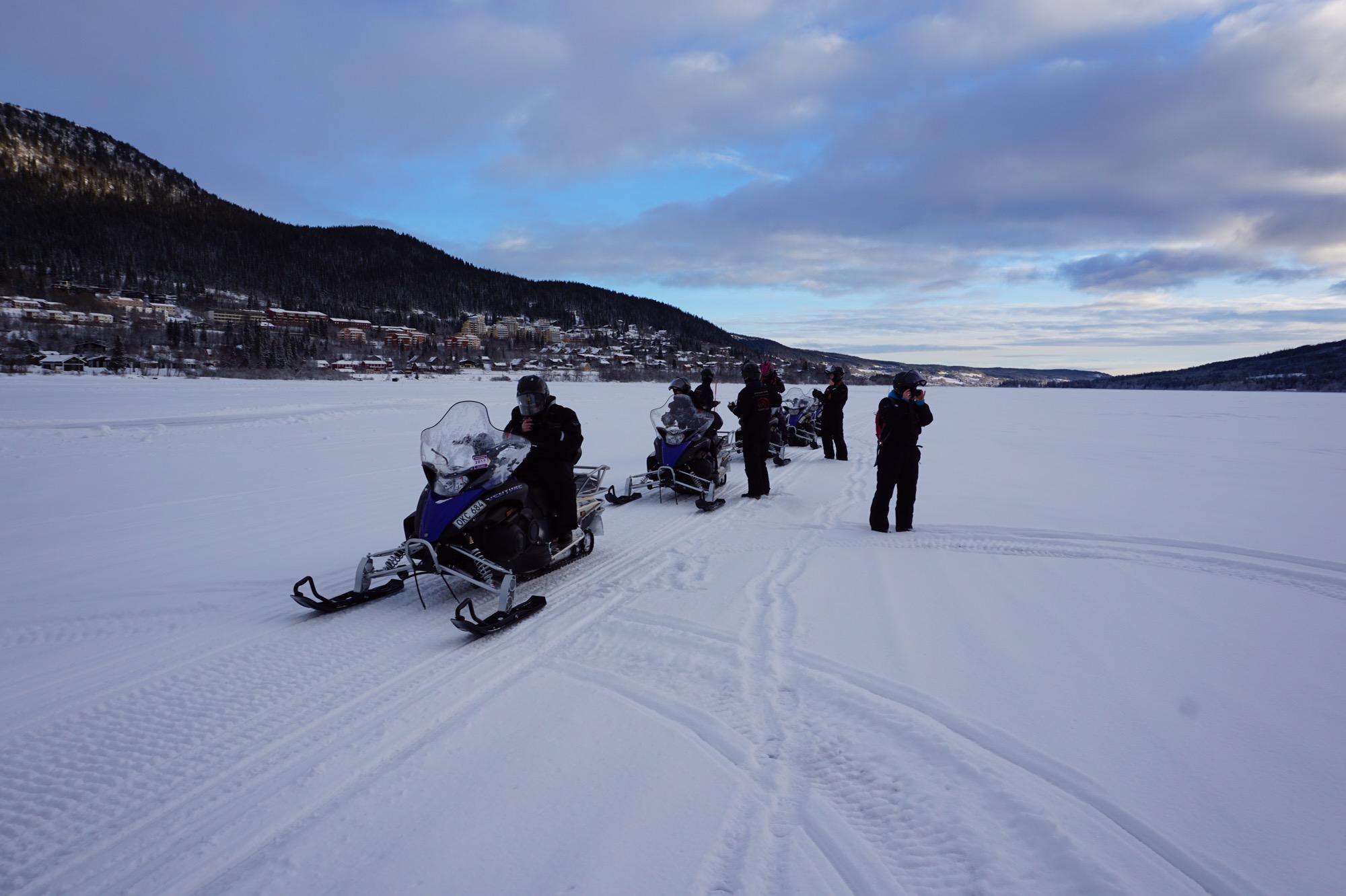 Åka skoter i Åre - Åresjön