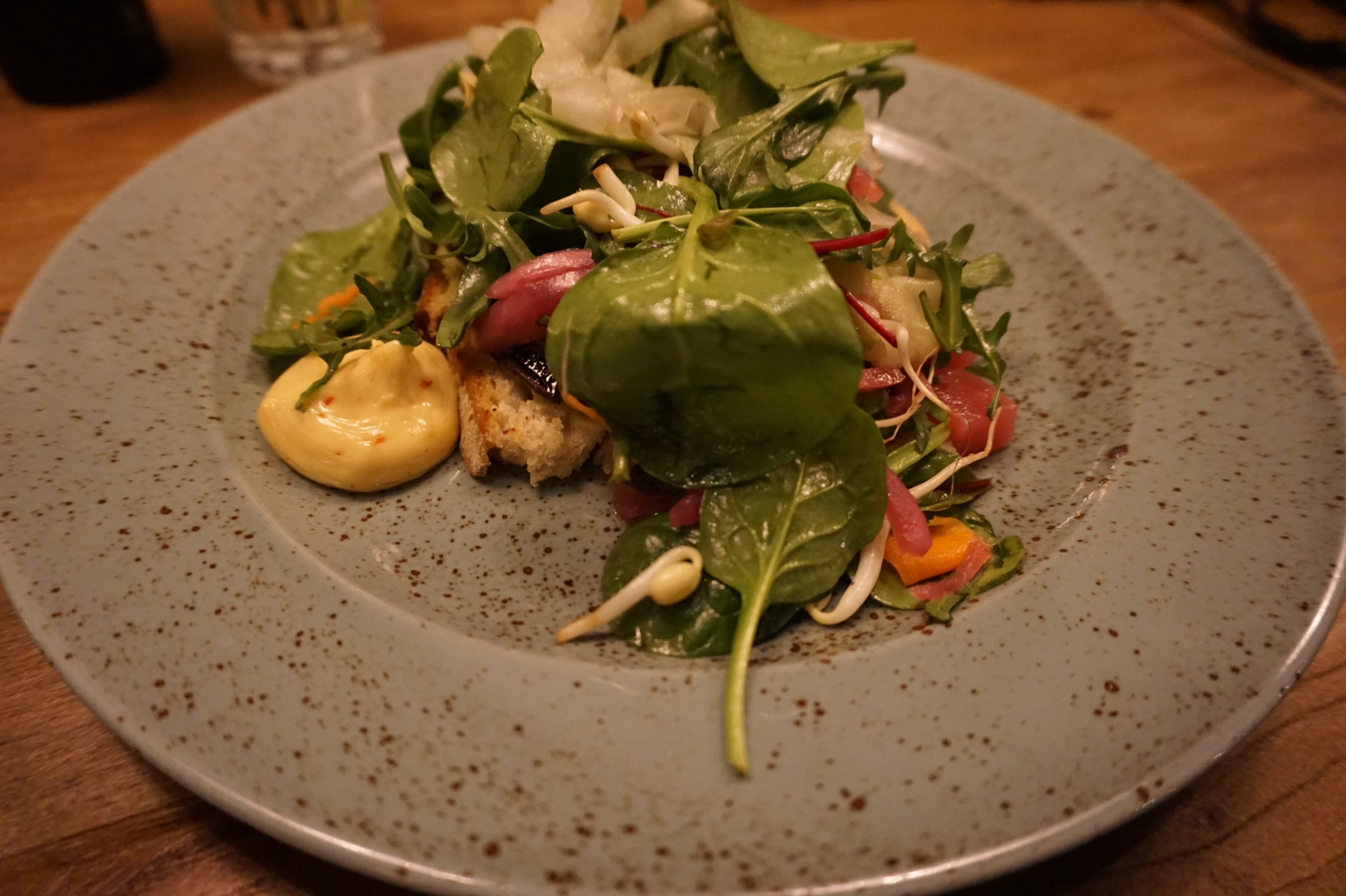 Grön mat i Åre - Toast