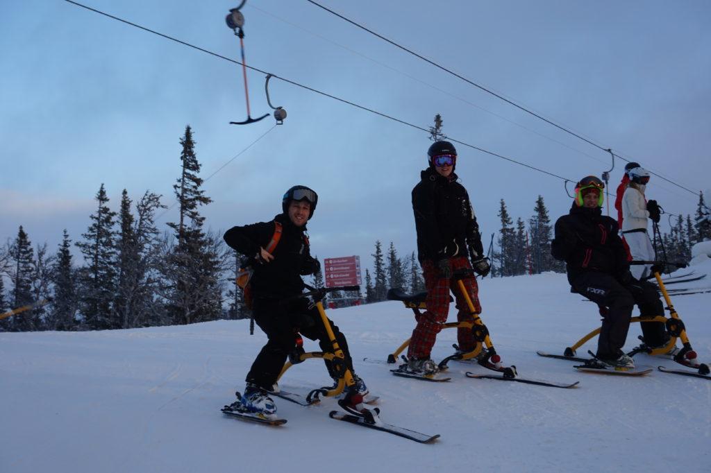 Snowbike - fler adrenalinkickar i Åre