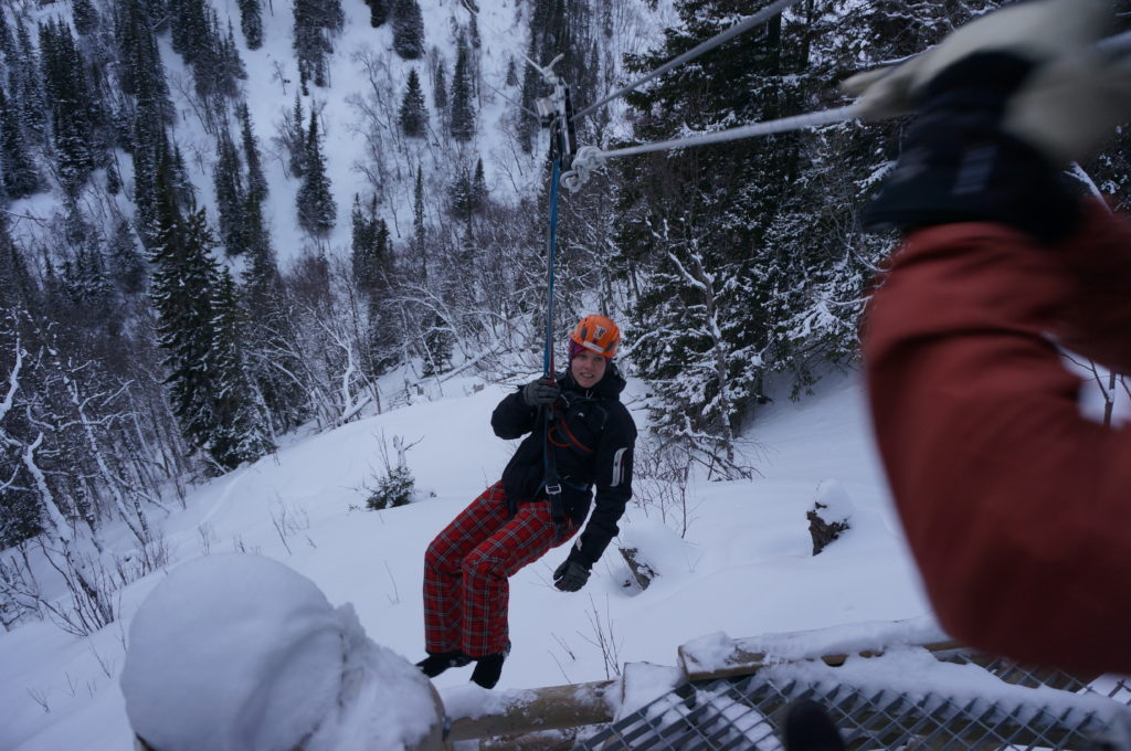 Adrenalinkick - ZipLine i Åre