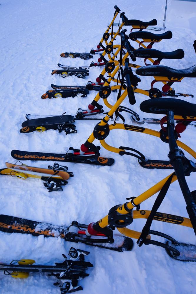 Snowbike - i Åre