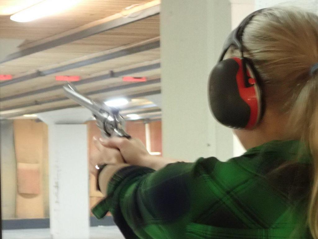 Pistolskytte - revolver