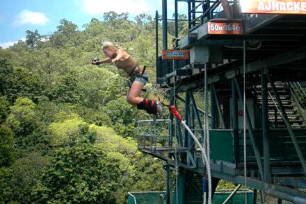 Adrenalinkickar - Bungy jump