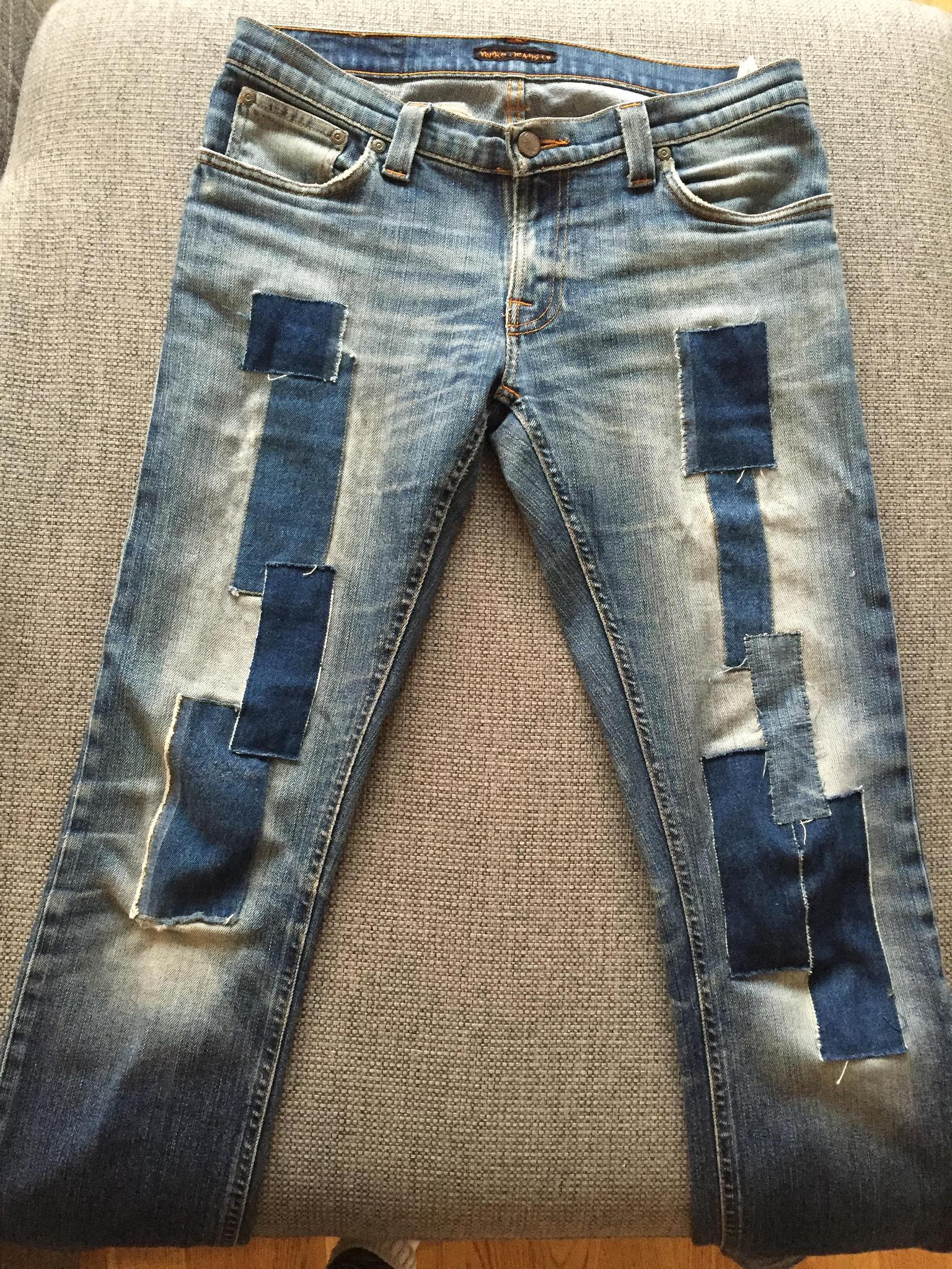 Lappade Nudie Jeans