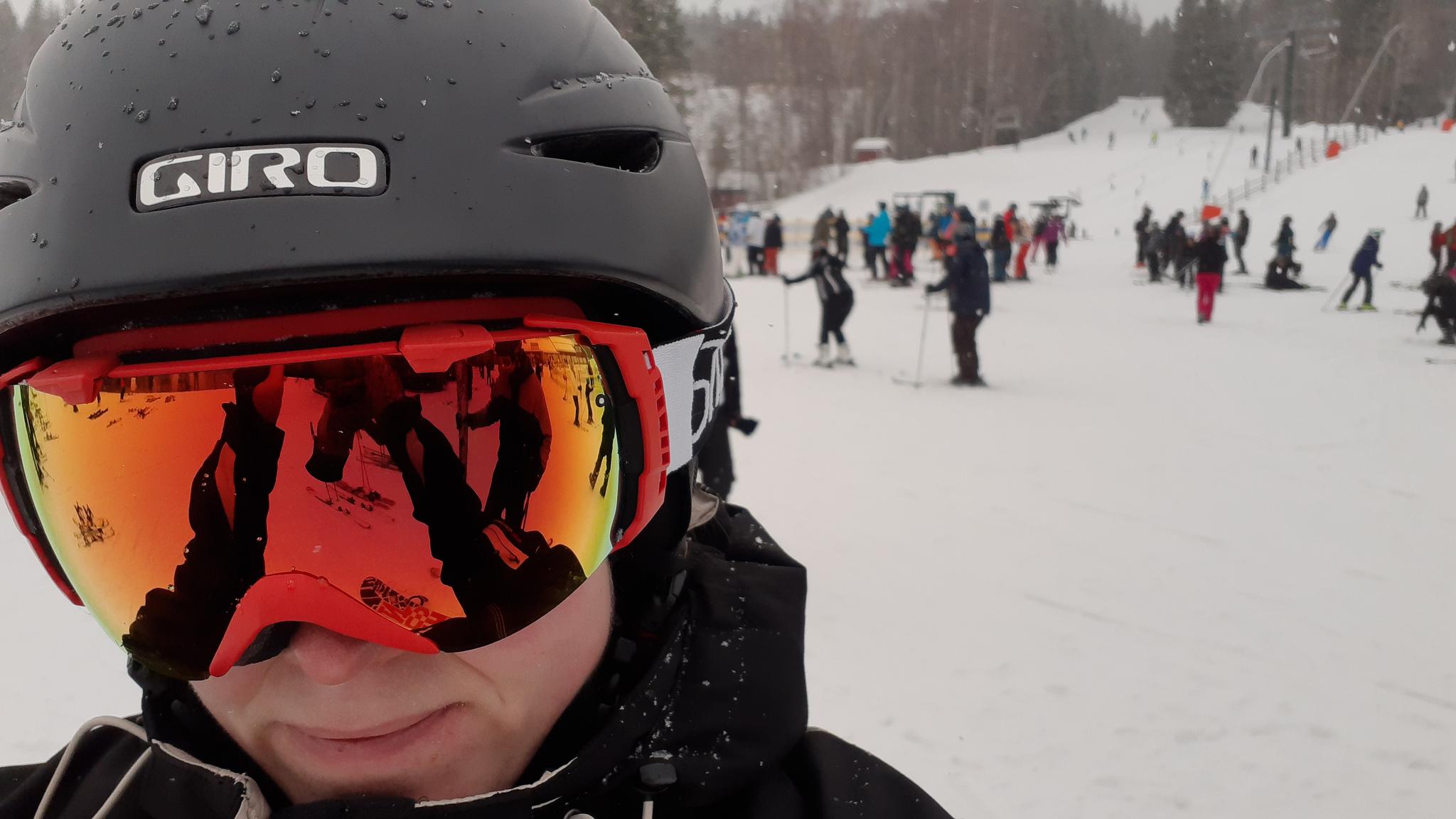 Åka skidor i Romme