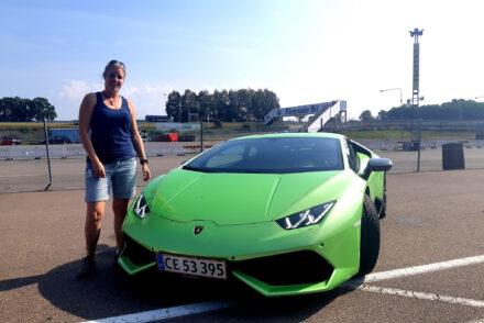 köra Lamborghini